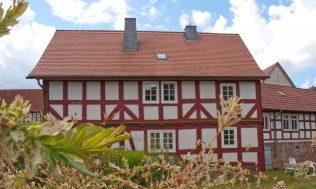 Das Bauernhaus zur Gartenseite