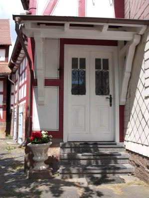 Der einladene Eingangsbereich